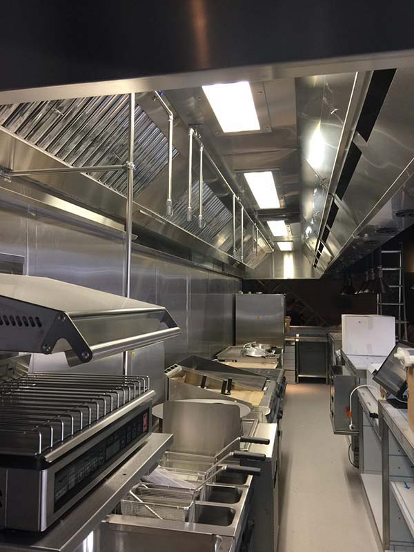 HVAC systems. Kitchen extraction systems. Fresh air replacement in commercial kitchens.