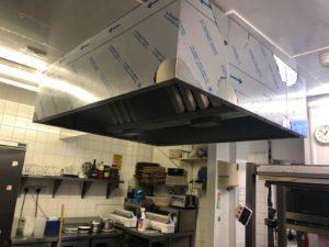 new box canopy installation